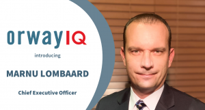 Marnu Lombaard, CEO Orway IQ